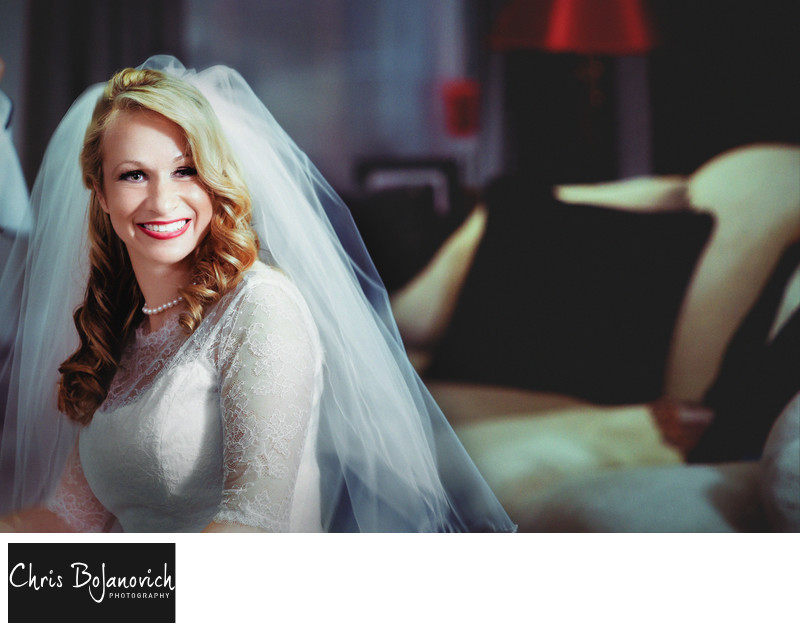 The Bride by Wedding Photographer in Westchester NY