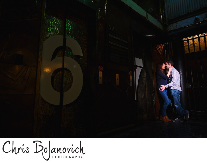 Engagement Photos Chelsea Market