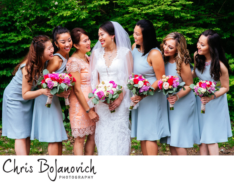 Bridesmaids The Waterview CT Photography