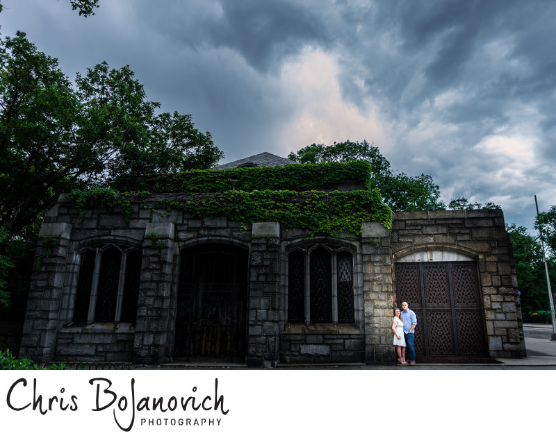 Fort Tyron Park Engagement Session