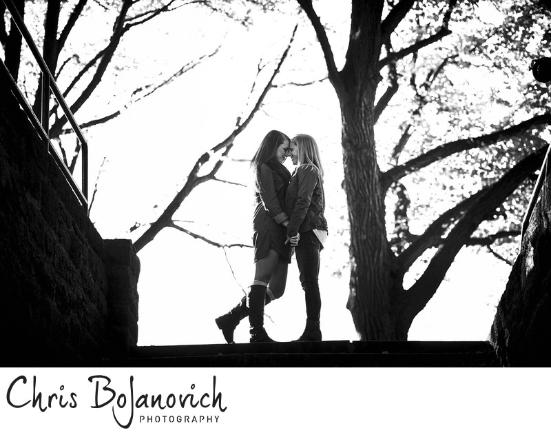 Fort Tyron Park Engagement Pictures