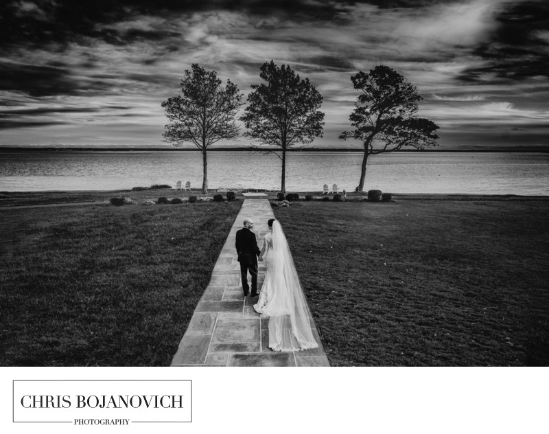 Larchmont Shore Club NY Wedding Photographer