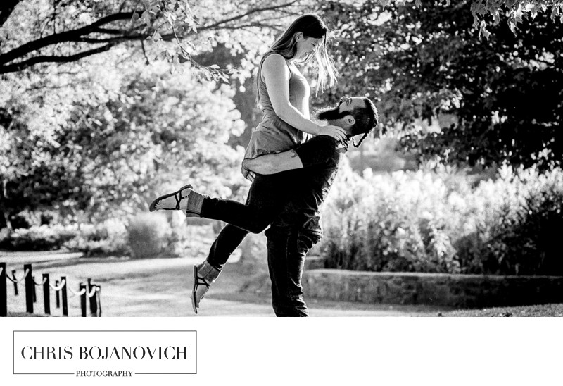 Playland Westchester NY Engagement Photographer