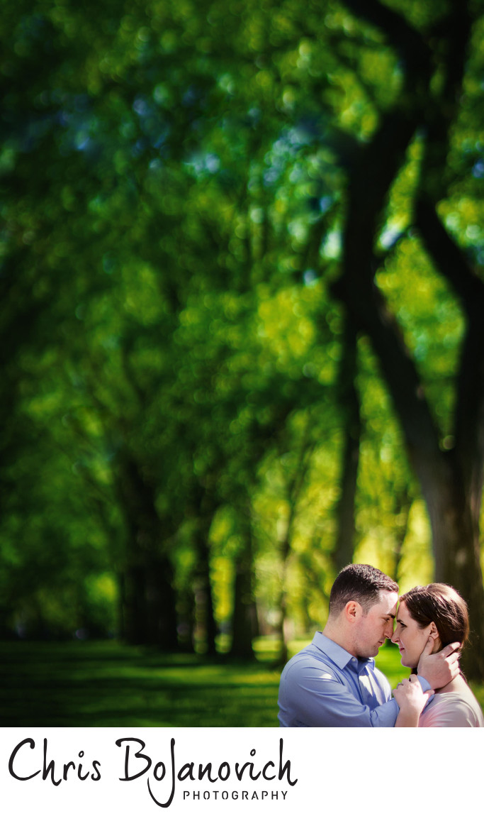 Central Park NYC Engagement
