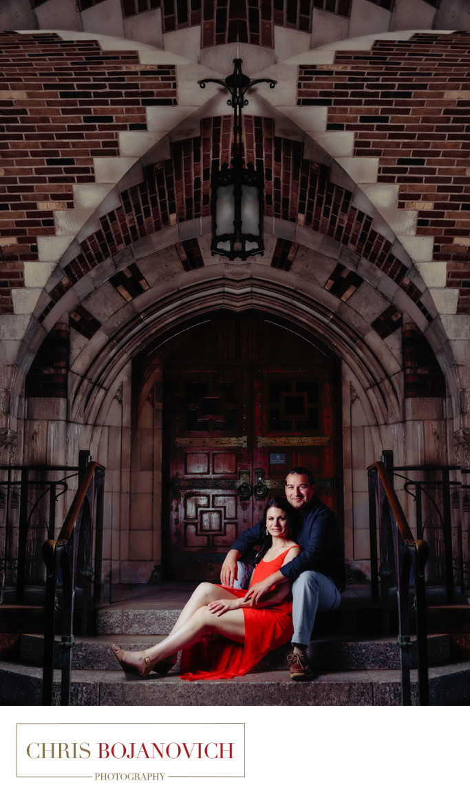 Best Yale University Engagement Photography