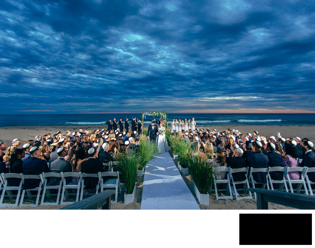 Bridgehampton Tennis & Surf Club Wedding Photo