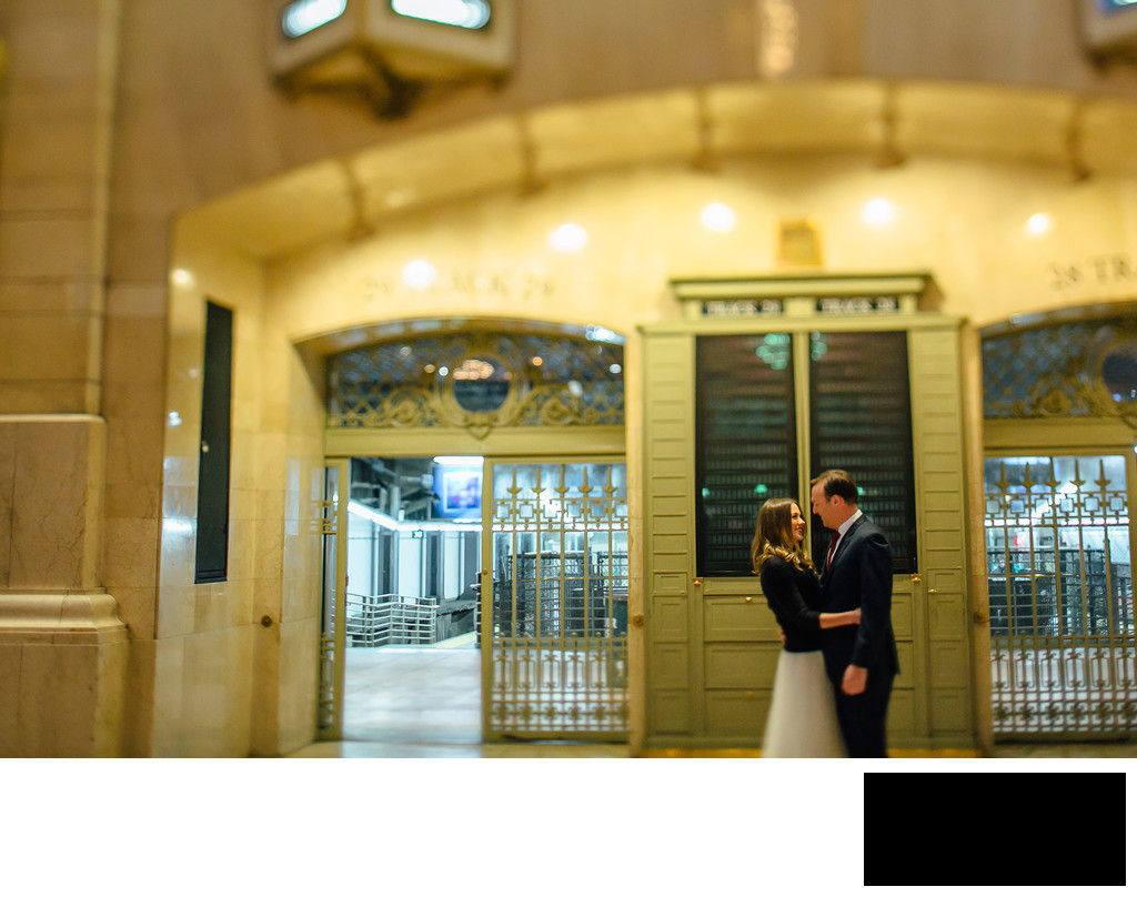 Grand Central Terminal Engagement photos
