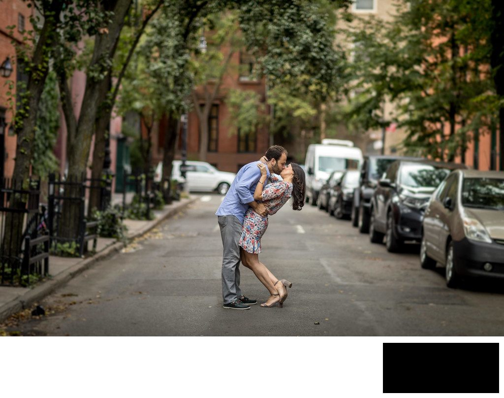 west village in nyc - engagement photos