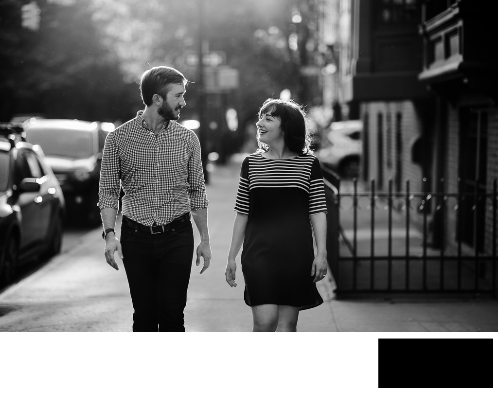 Brooklyn Engagement photo by Sean Kim