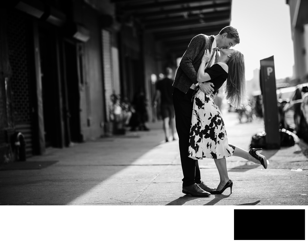 nyc engagement photo by seangallery