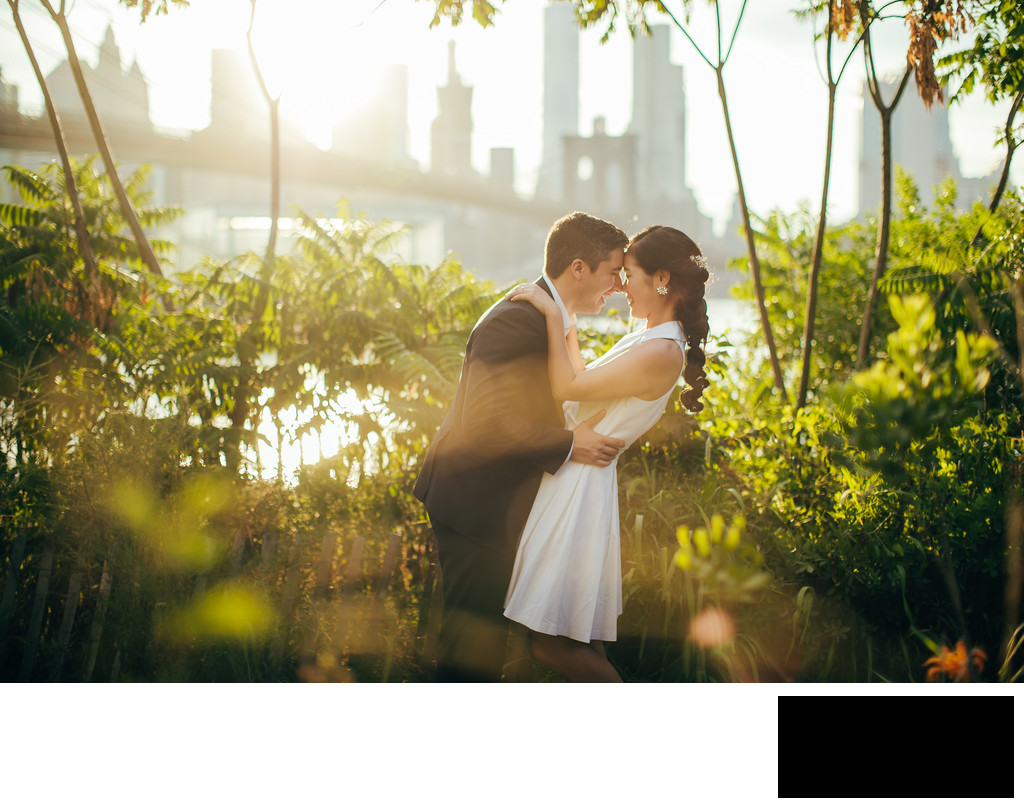 dumbo elopement photo