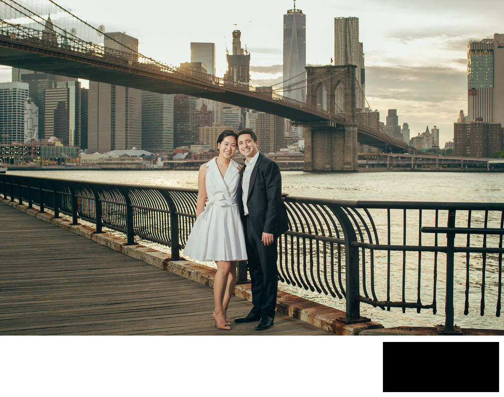 nyc engagement photos