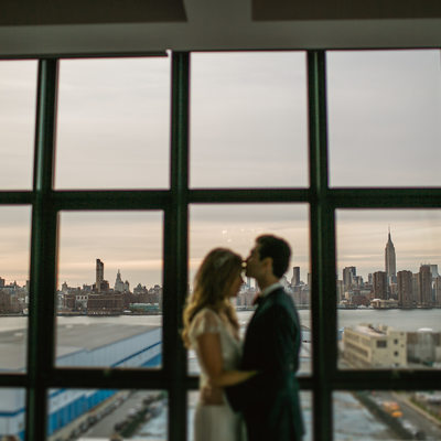 Wythe Hotel wedding photo by sean kim