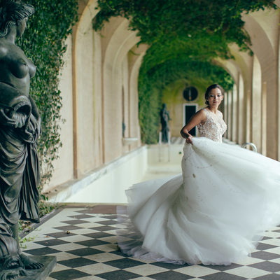 Oheka castle wedding photos by sean
