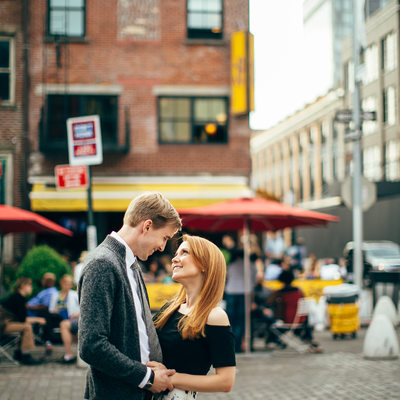 Meat Packing in nyc engagement photos
