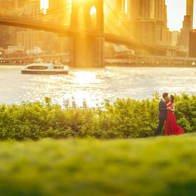 Dumbo in Brooklyn Engagement photo