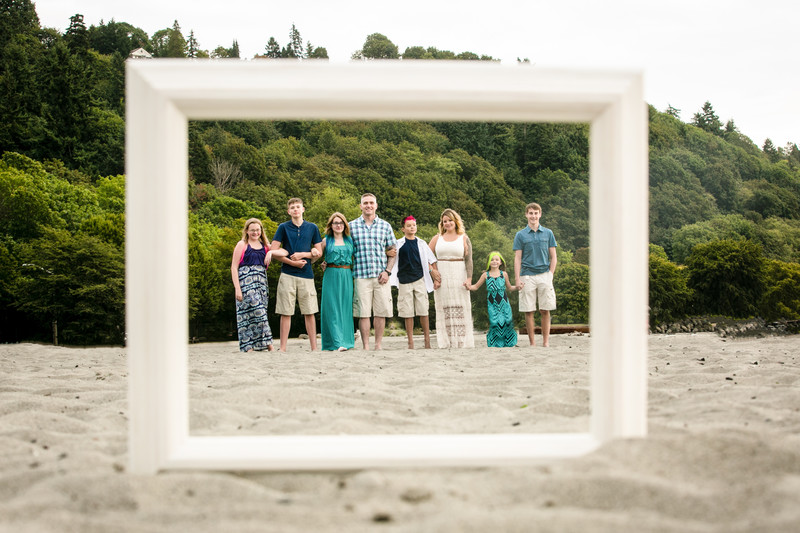 Golden Gardens Family Portrait Photography | Seattle