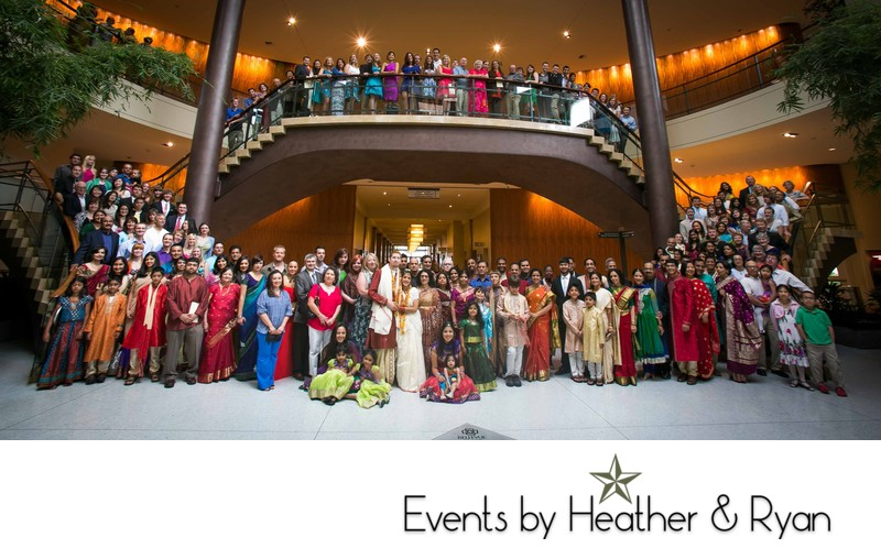 Grand Hyatt Bellevue Southern Indian Wedding Photography
