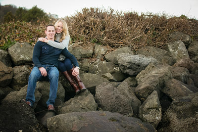 Engagement Photographer in Alki Beach | Seattle