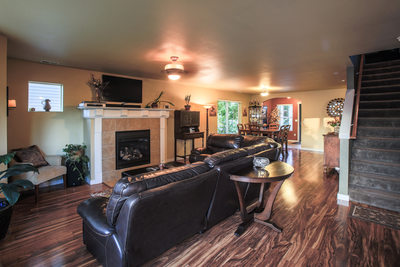 Seattle Skagit County Real Estate Photography Photographer Living Room