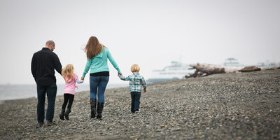 Edmonds Beach Family Portrait Photographer | Snohomish