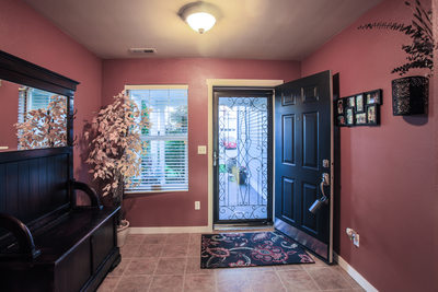 Seattle Skagit County Real Estate Photography Photographer Front Entrance Home