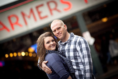 Pikes Place Market Engagement Photos | Seattle