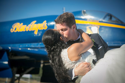Wedding Photography at Museum of Flight | Seattle