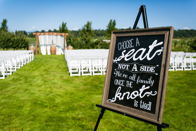 Wedding Photographs at Swan Trail Farms | Snohomish