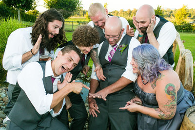 Wedding Reception Swan Trail Farm | Snohomish | Everett