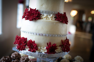 Hollywood Schoolhouse Wedding Cake | Woodinville | Seattle