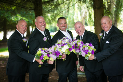 Groomsmen in Bothell | Wedding