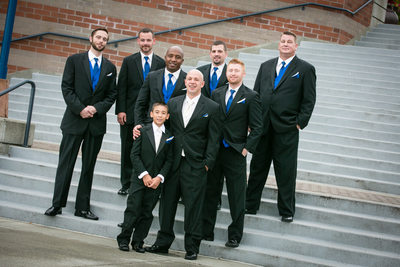 Groomsmen at  Woodmark Hotel Carillon Point | Kirkland | Seattle