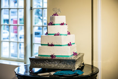 Wedding Cake at Monte Cristo Ballroom | Snohomish | Everett