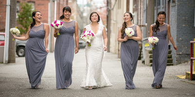 Bridesmaids at Monte Cristo Ballroom | Snohomish | Seattle