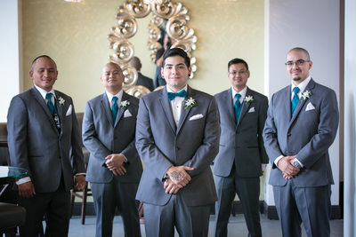 Groomsmen at  Monte Cristo Ballroom | Seattle | Snohomish