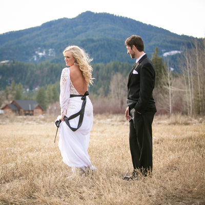 Mountain Springs Lodge Wedding Photographs | Leavenworth