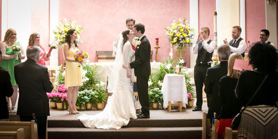 Weddings at Holy Family Catholic Church Kirkland | Bellevue