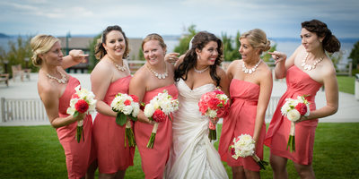 Bridesmaid Dresses at Rosehill Community Center | Mukilteo