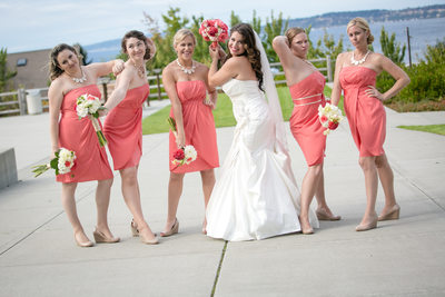 Bridesmaids at Rosehill Community Center