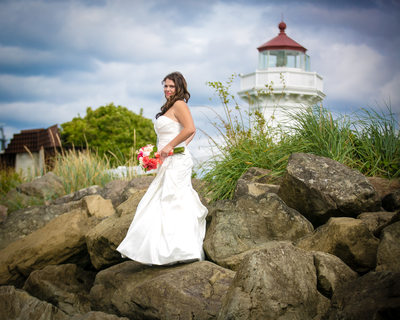Wedding Photographers for Rosehill Community Center | Mukilteo | Seattle