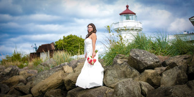 Wedding Photographs at Rosehill Community Center