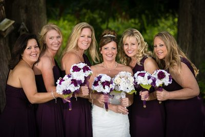 Bridesmaids in Stanwood Tazer Valley Farm | Snohomish