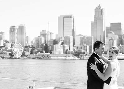 Alki Beach Wedding Photography