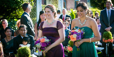 Outdoor Wedding at Hollywood Schoolhouse