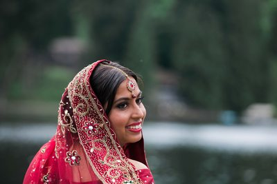 Southern Indian Wedding Photography at Green Gates at Flowing Lake