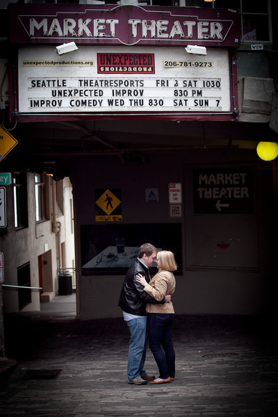Pikes Place Market Engagement Session