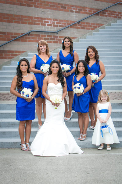 Bridesmaid Dresses at Woodmark Hotel Carillon Point | Kirkland