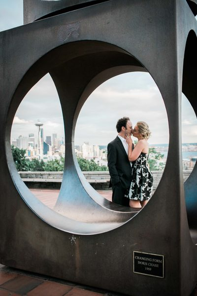 Kerry Park Photographer for Engagement