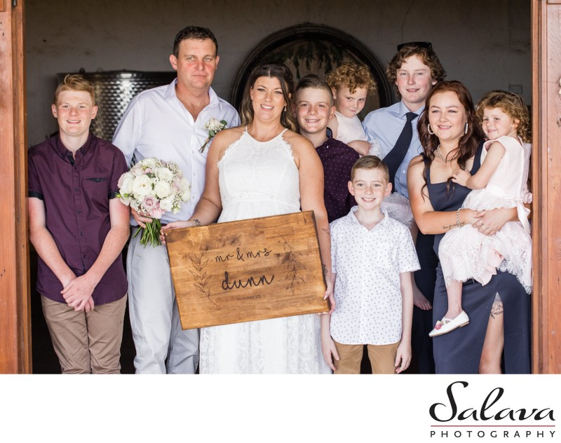 Canowindra Wedding Family Photo
